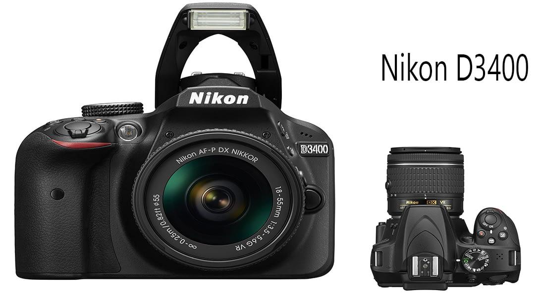 Nikon D3400 | Best DSLR Camera