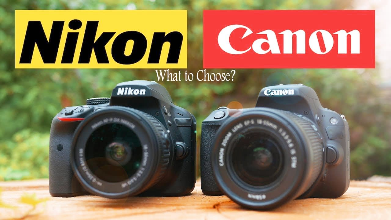 Nikon Vs Canon Camera For Beginners